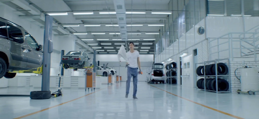commercial: mechanic - mam.art, slovenian production design company