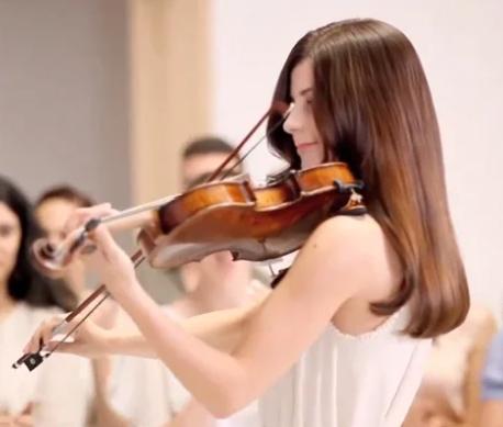 dove - violin