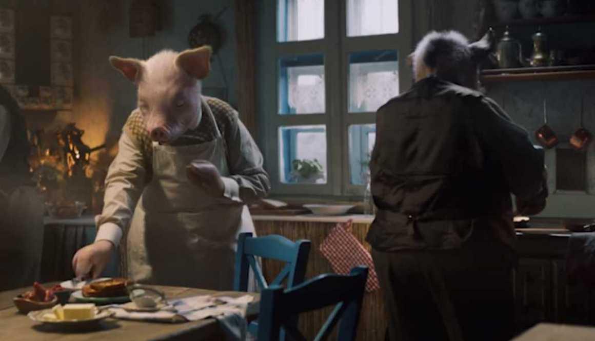 NaturesOwn - Three little pigs e